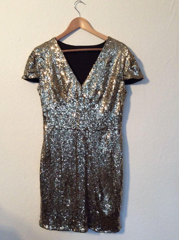 Glitzer Pailletten Kleid