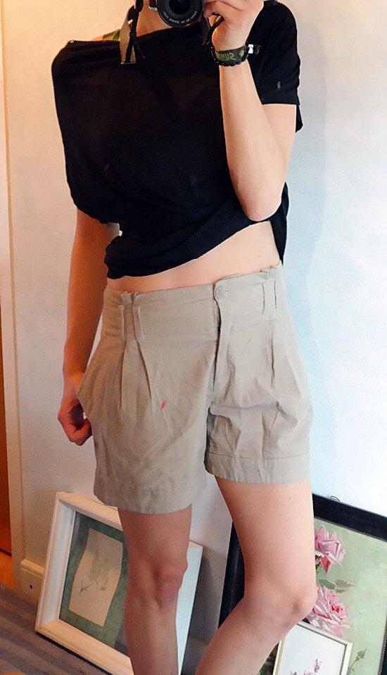 s oliver s oliver shorts bermuda kurze hose cord feincord high waist taschen beige s braun. Black Bedroom Furniture Sets. Home Design Ideas