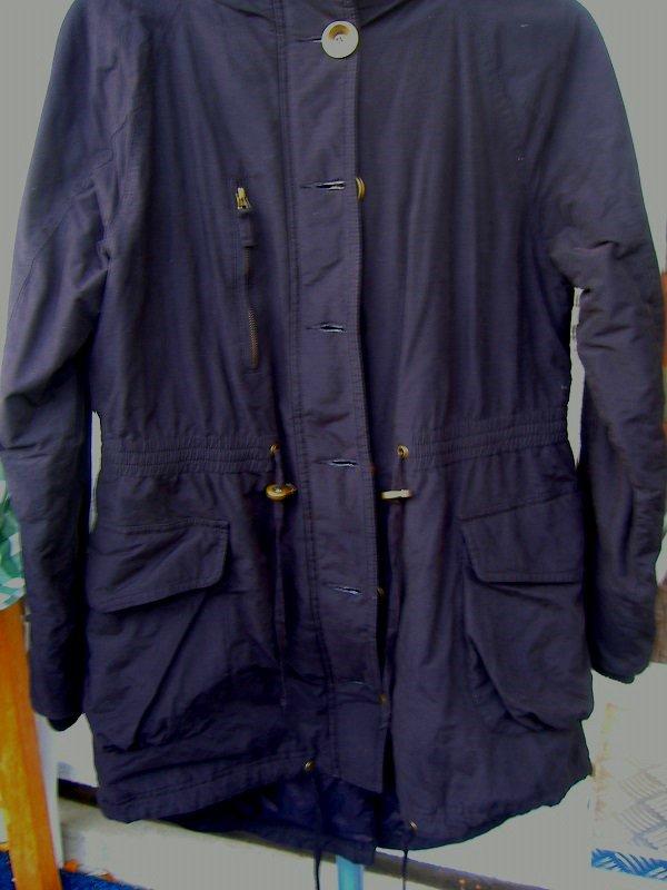Damen-Winterjacke Parka schwarz Gr. 40 mit Kapuze B-C Best Collection  ... 977b442e04