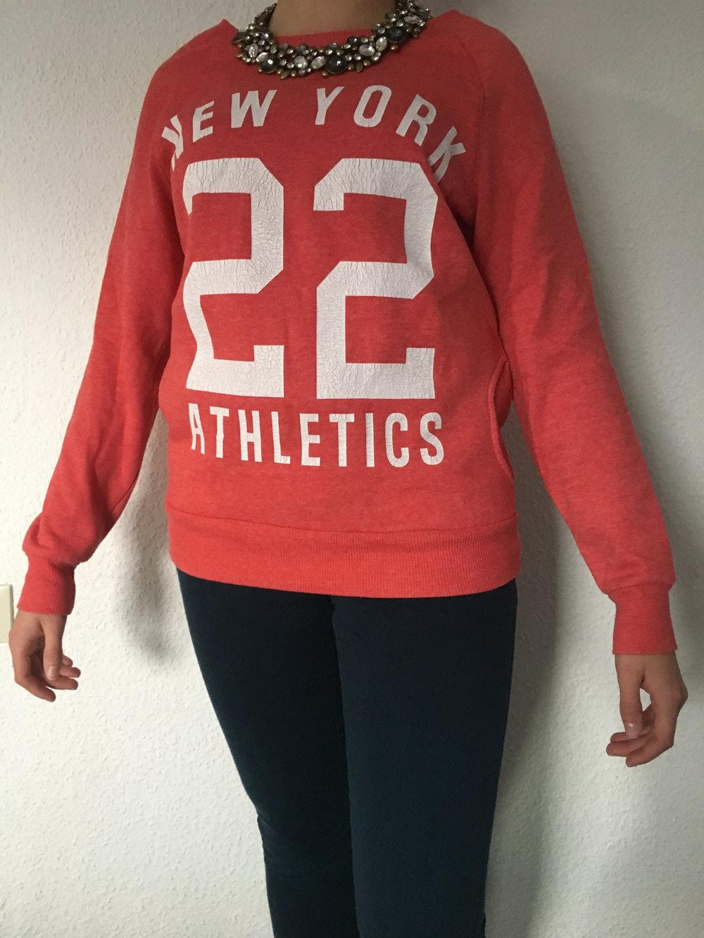 best sneakers 7eb0c 022db Schöner roter Skaterpulli mit Aufschrift, Pullover, Hoodie, Sweater,  Sweatshirt, 22, lässig, College