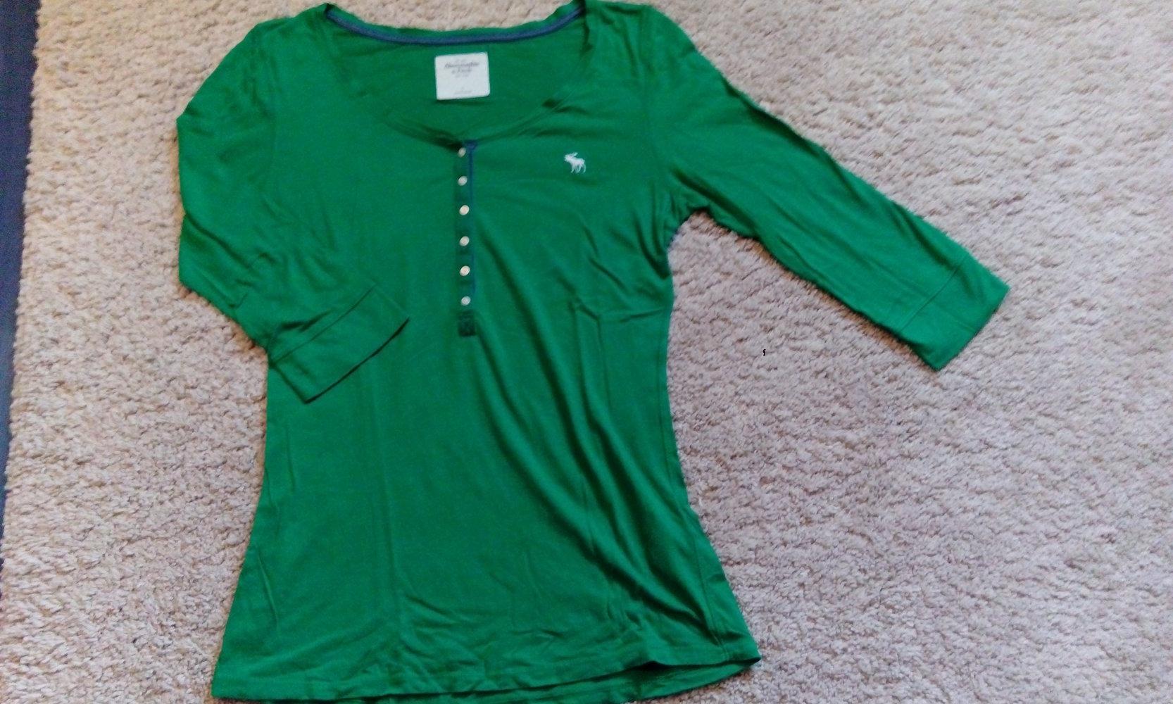 3 4 arm shirt von abercrombie fitch. Black Bedroom Furniture Sets. Home Design Ideas