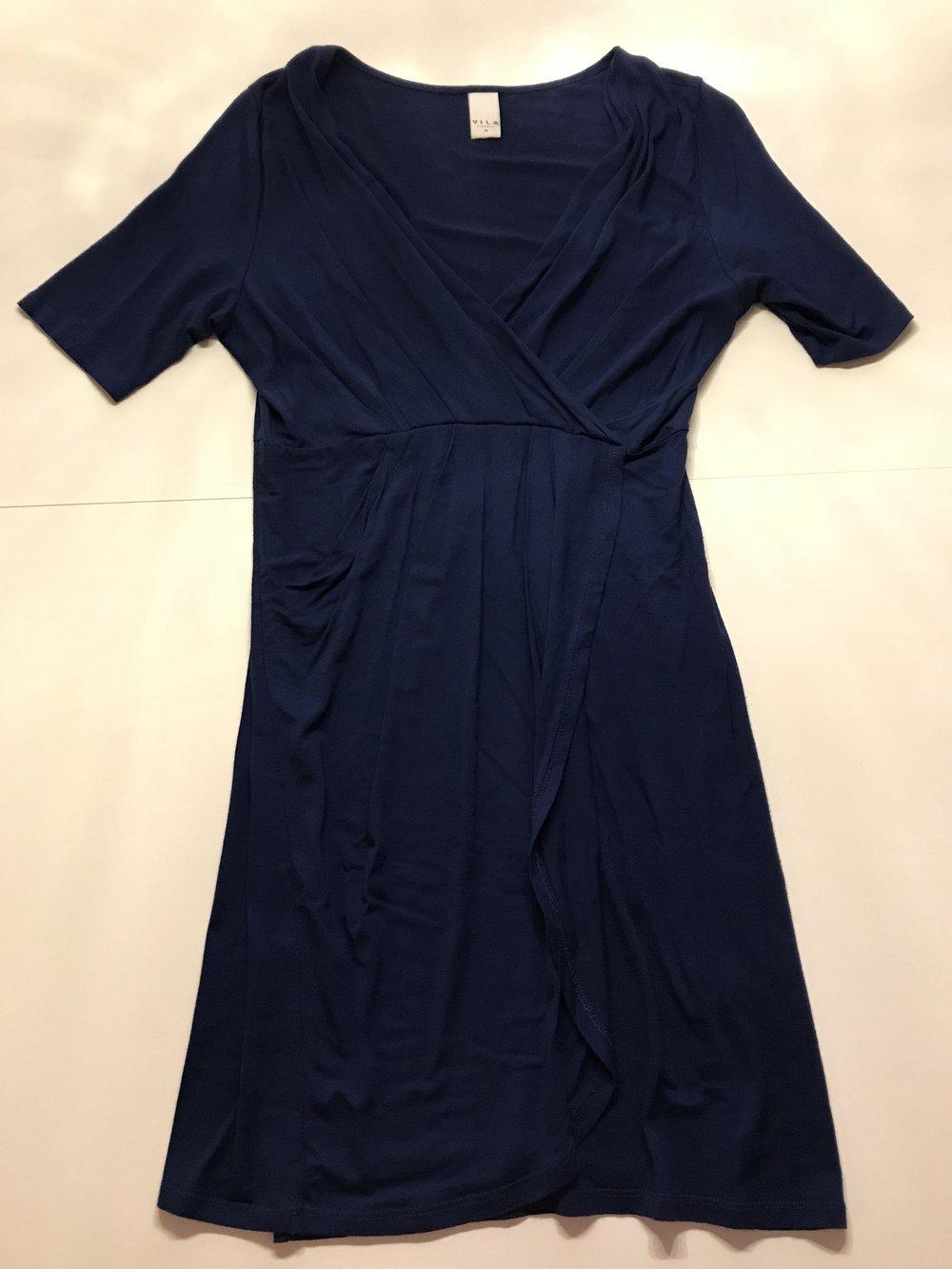 Blaues Kleid Von Vero Moda