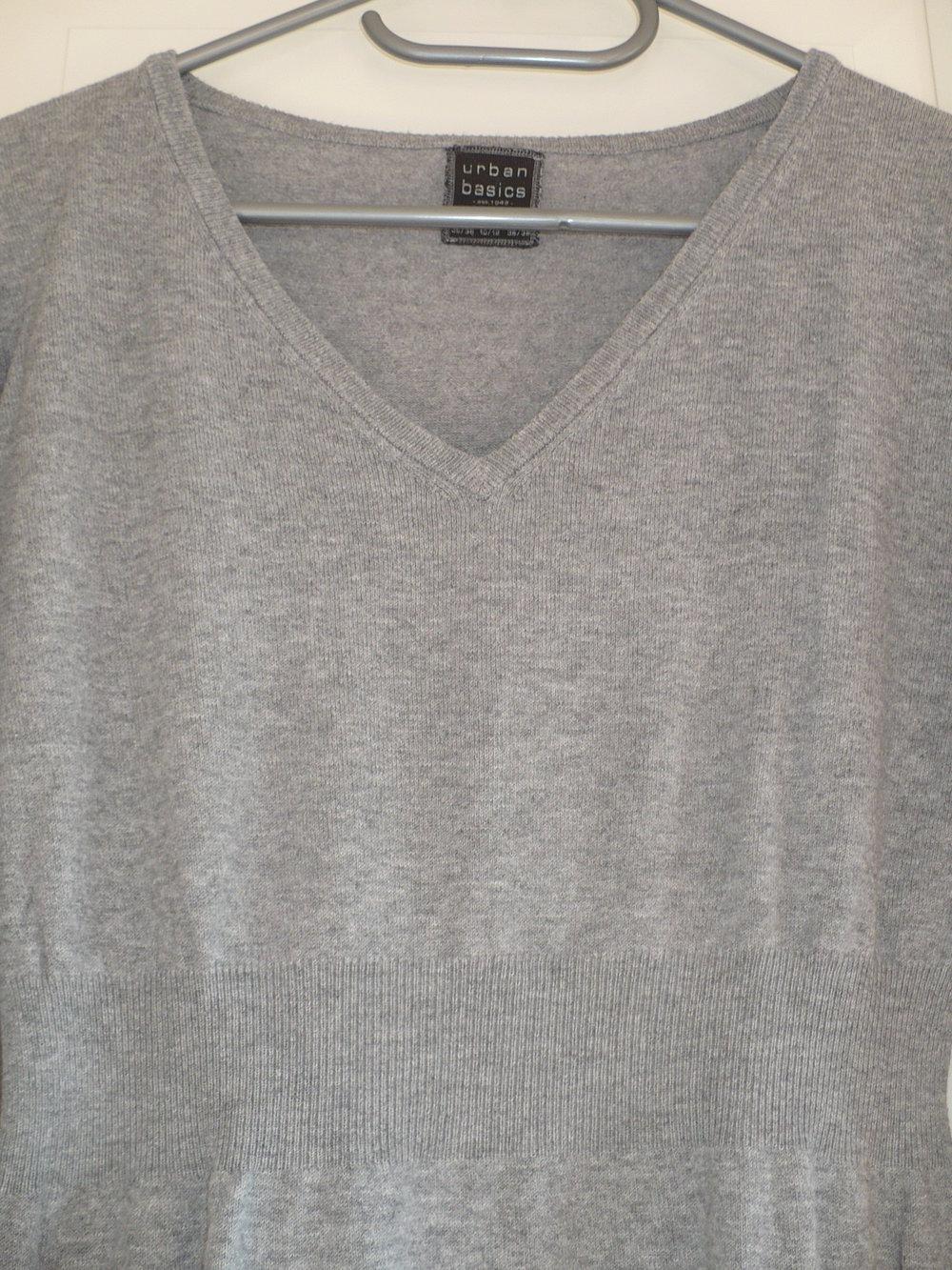 Tchibo strickkleid grau