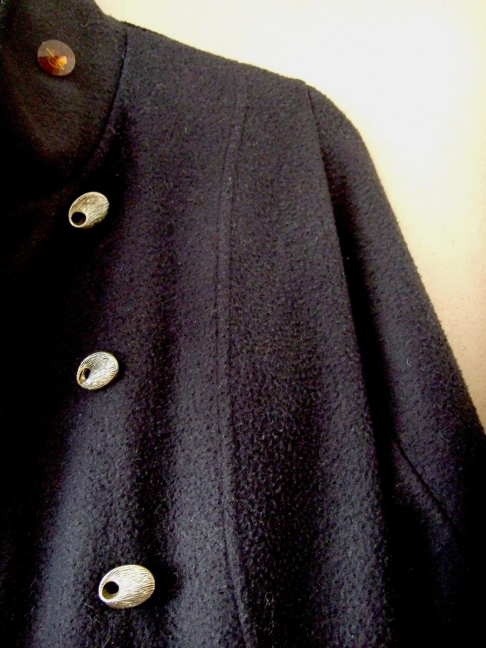 matrosen jacke schwarz
