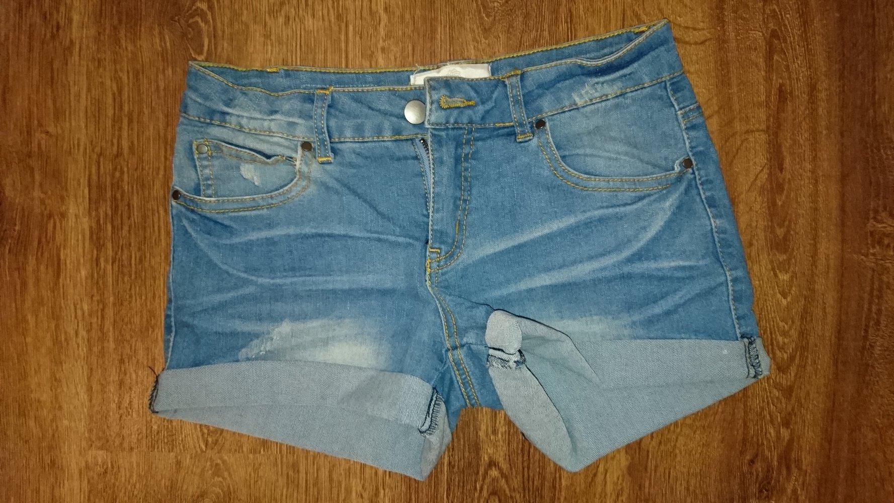 pieces schicke jeans shorts. Black Bedroom Furniture Sets. Home Design Ideas