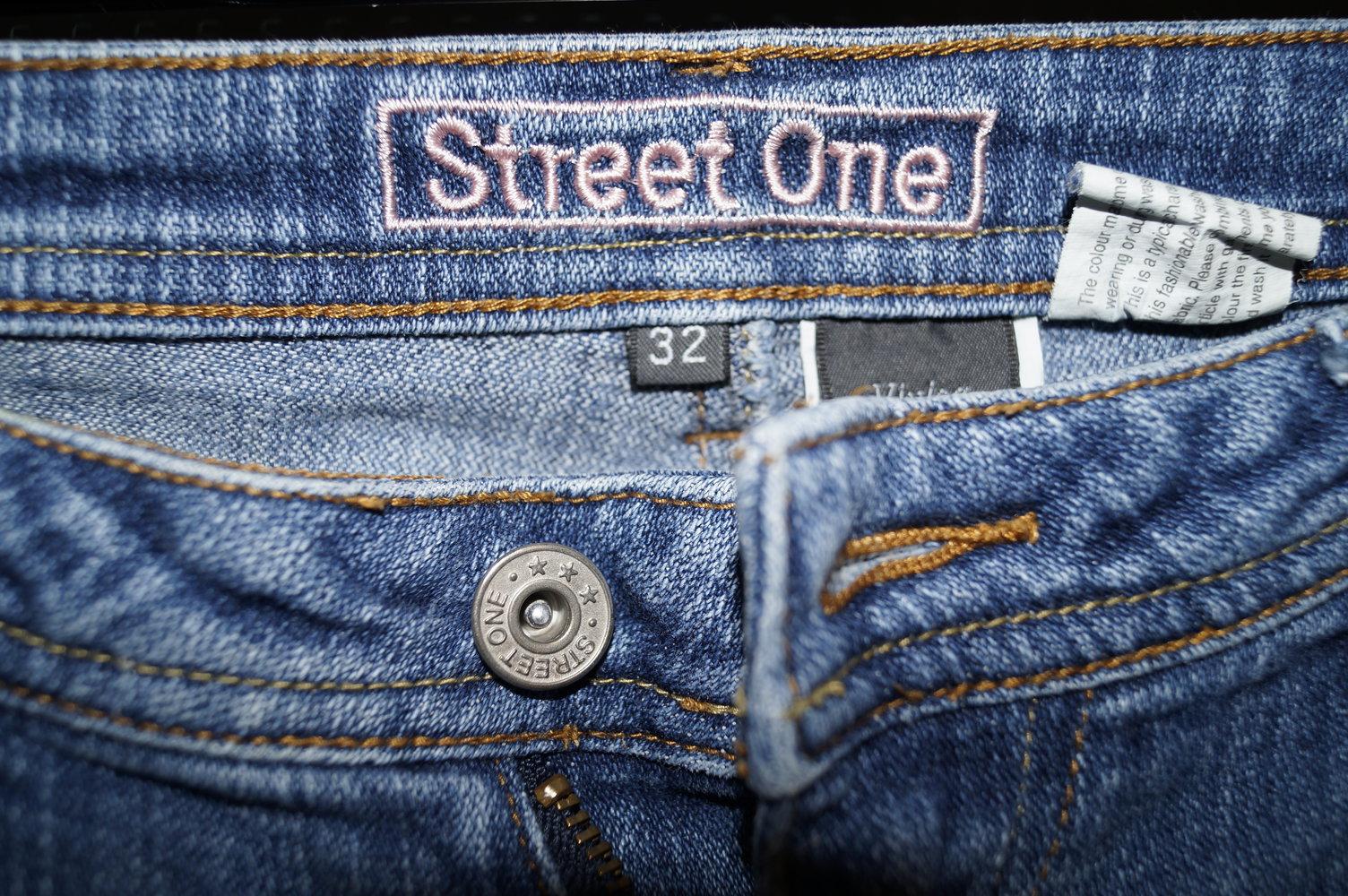 street one sch ne ausgewaschene schlaghose 32 34. Black Bedroom Furniture Sets. Home Design Ideas