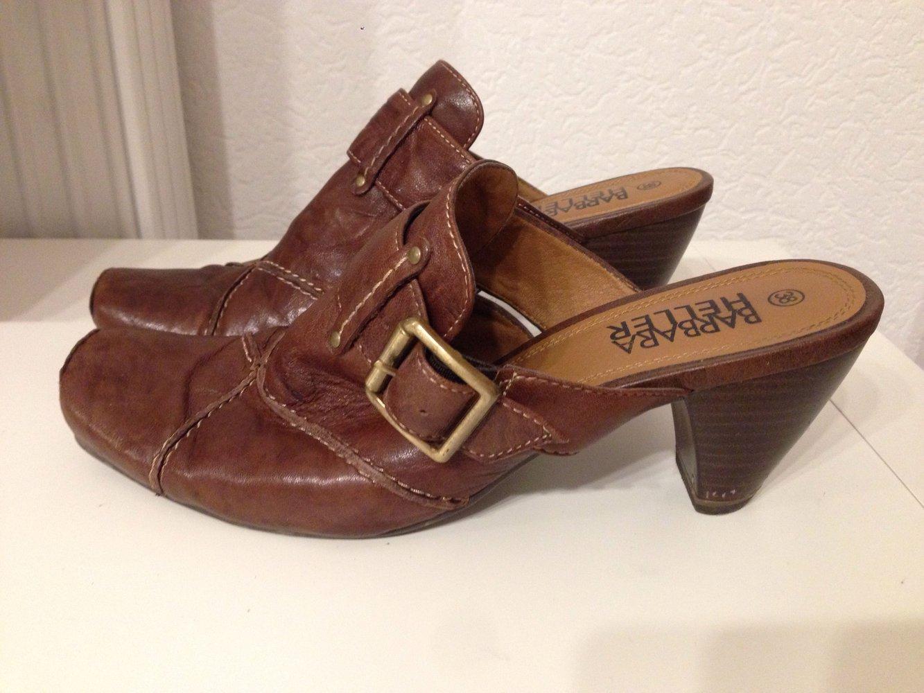 Barbara Heller Braune Schuhe Mit Absatz Kleiderkorb De