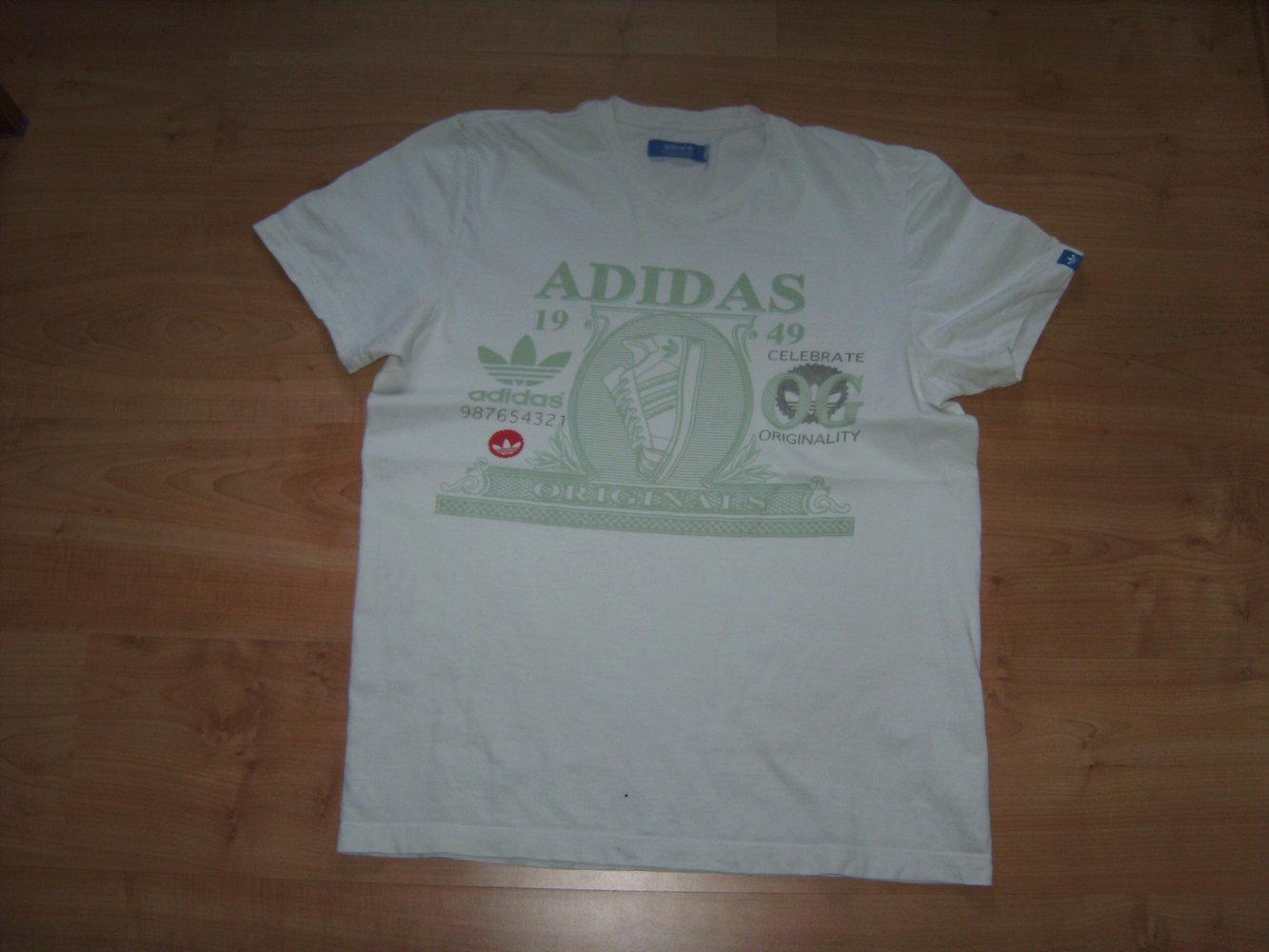 Adidas, Sportiv, Gr. L, Kurzarm T shirt Herren zu Verschenken an Sammelbesteller