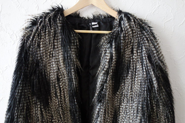 blogger fake fur pelz jacke. Black Bedroom Furniture Sets. Home Design Ideas