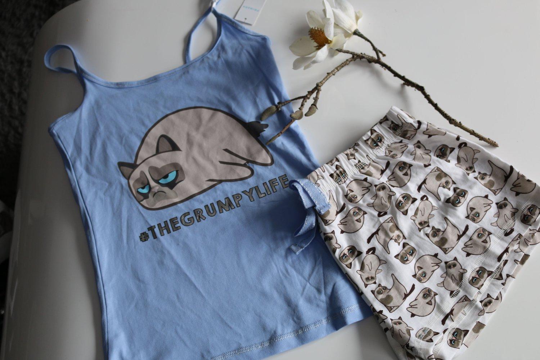Primark, Atmosphere - Neu Primark Grumpy Cat Pyjama