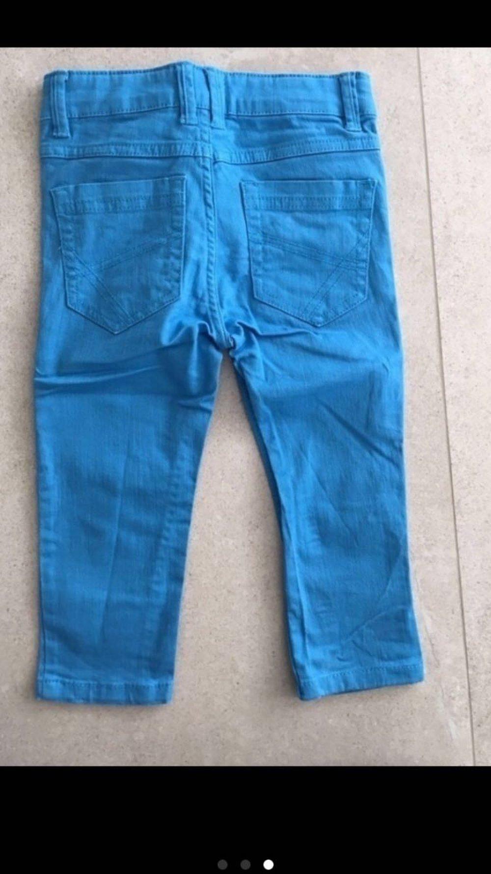 hose jeans blau gr 86 92 neu. Black Bedroom Furniture Sets. Home Design Ideas