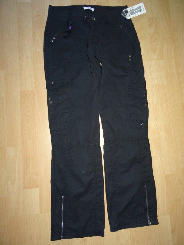 schwarze sportliche hose von yessica neu loose fit gr 38 mit etikett. Black Bedroom Furniture Sets. Home Design Ideas