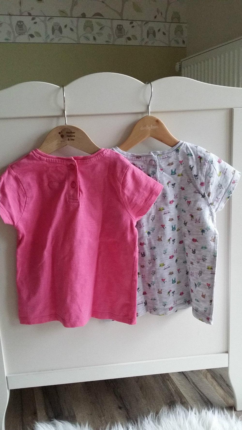 next t shirt 2er pack 3 4 98 104 bunny hase auch f r. Black Bedroom Furniture Sets. Home Design Ideas