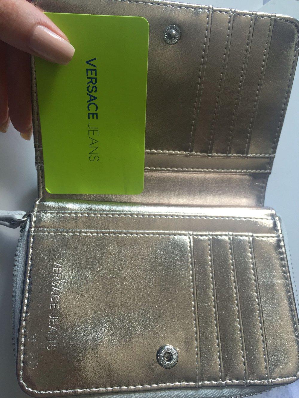 versace jeans portemonnaie