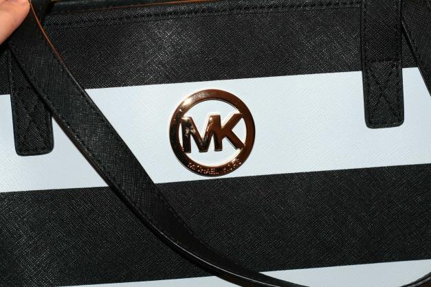 Michael Kors Geldbörse Schwarz Weiß