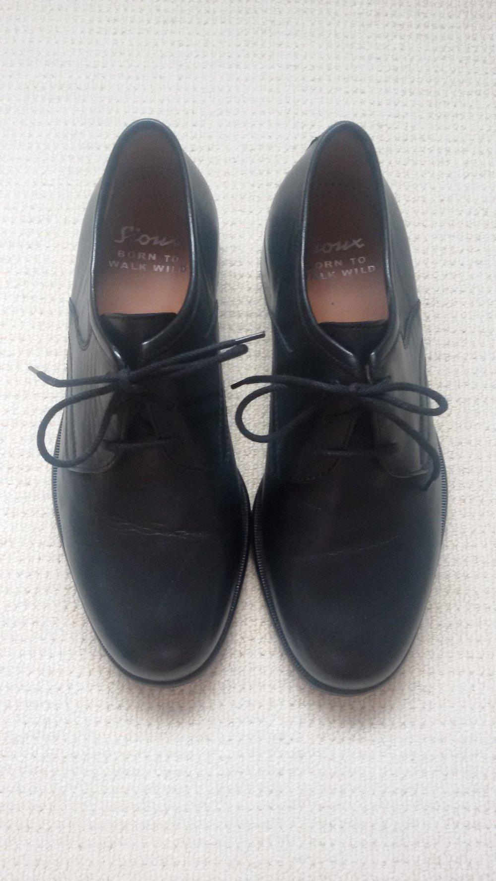 more photos 66ab8 0585f Tolle Herrenschuhe Business-Schuhe Anzugsschuhe schwarz Leder von Sioux Gr.  6 1/2