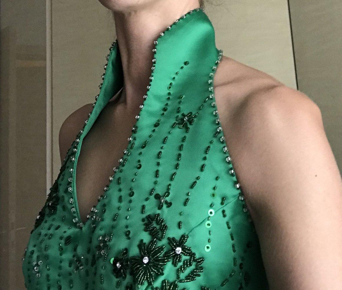 Abendkleid, Ballkleid gr.36/38 grün :: Kleiderkorb.de