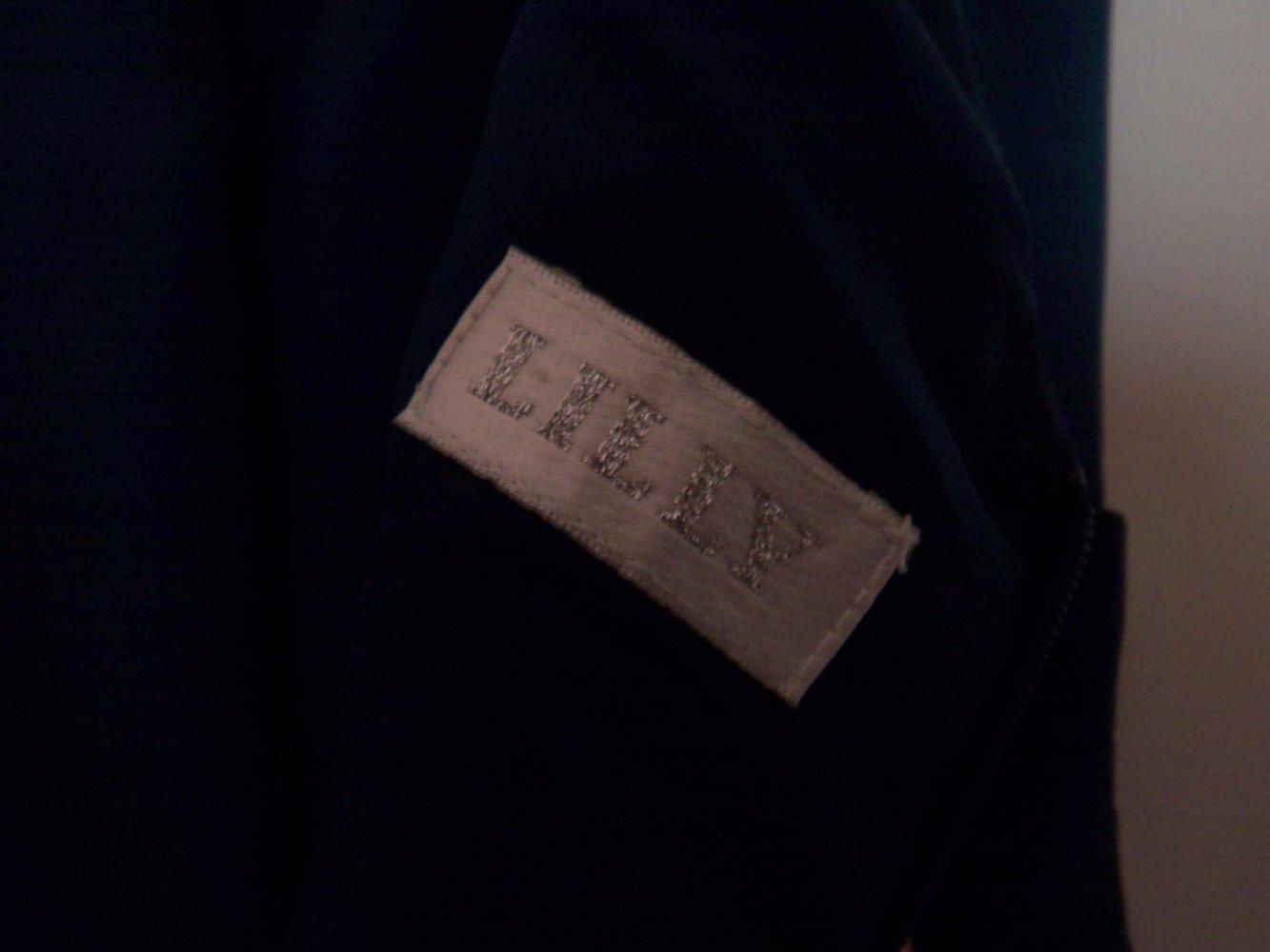 LILLY Brautmoden - Ballkleid, Abendkleid blau Satin 34/XS ...