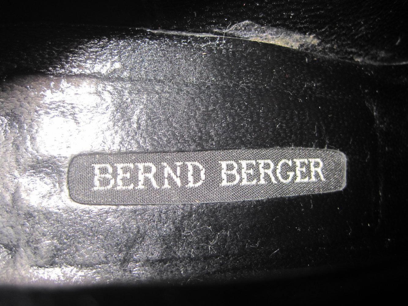 ... Ausgefallene Bernd Berger Leder Ankle Boots Stiefeletten Schnürer  Vintage Hippie 38 ... d2404c12cb
