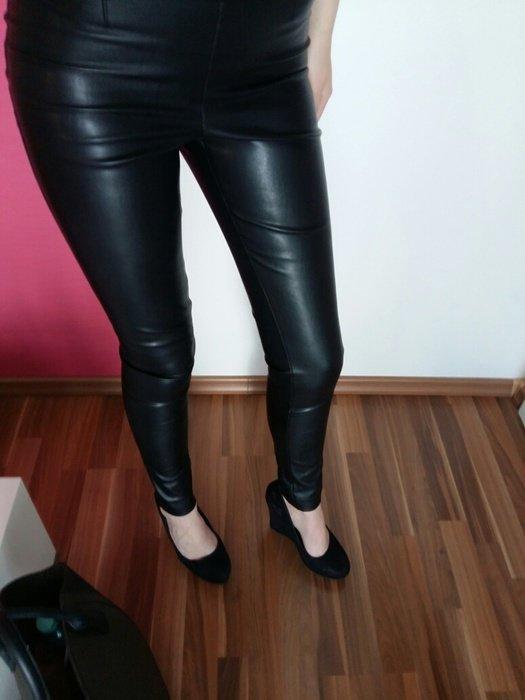 Vero moda leder leggings