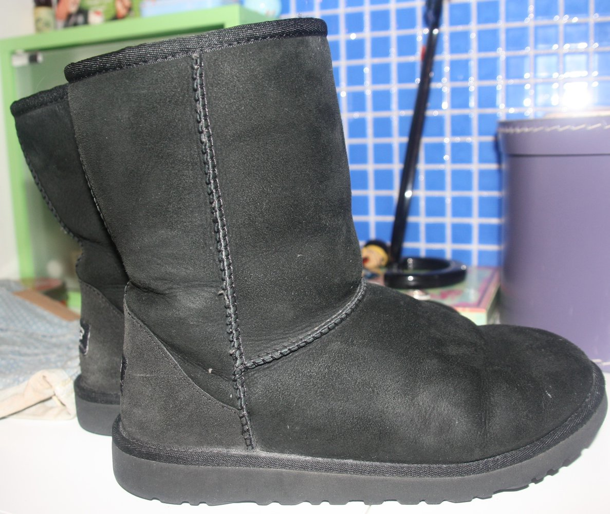 ugg boots short schwarz