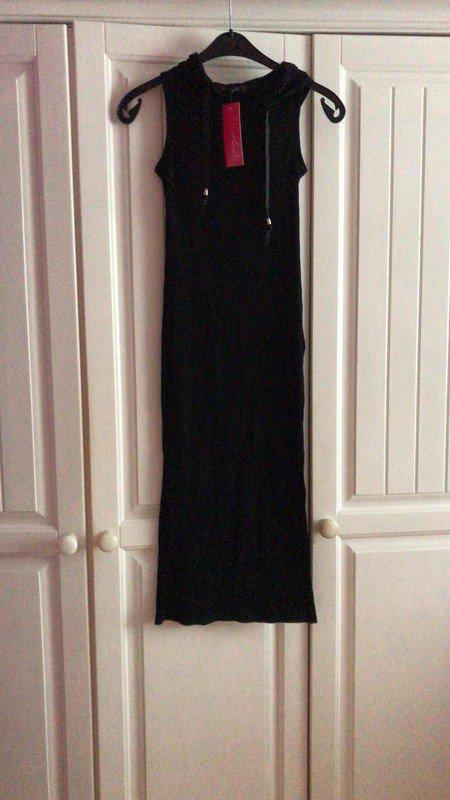 Langes enges schwarzes Kleid    Kleiderkorb.de 212e6b2760