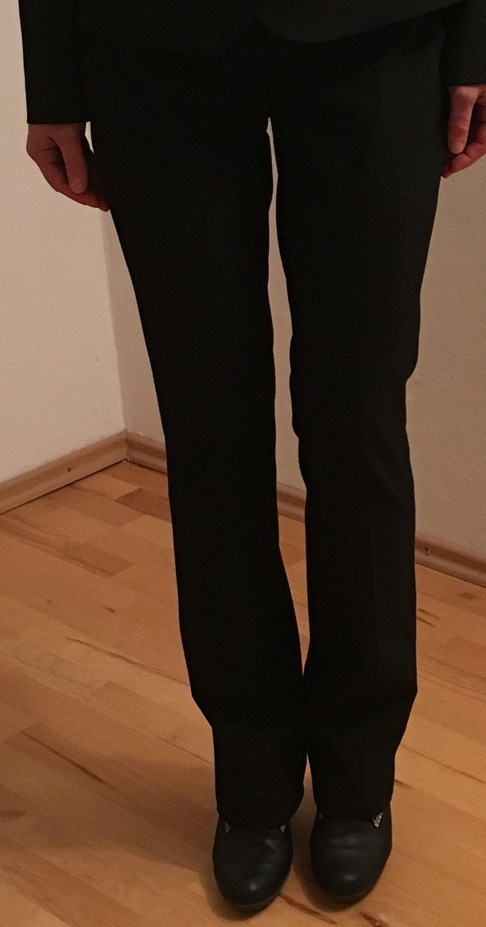 elegante schwarze anzughose stoffhose mexx gr 34 36. Black Bedroom Furniture Sets. Home Design Ideas