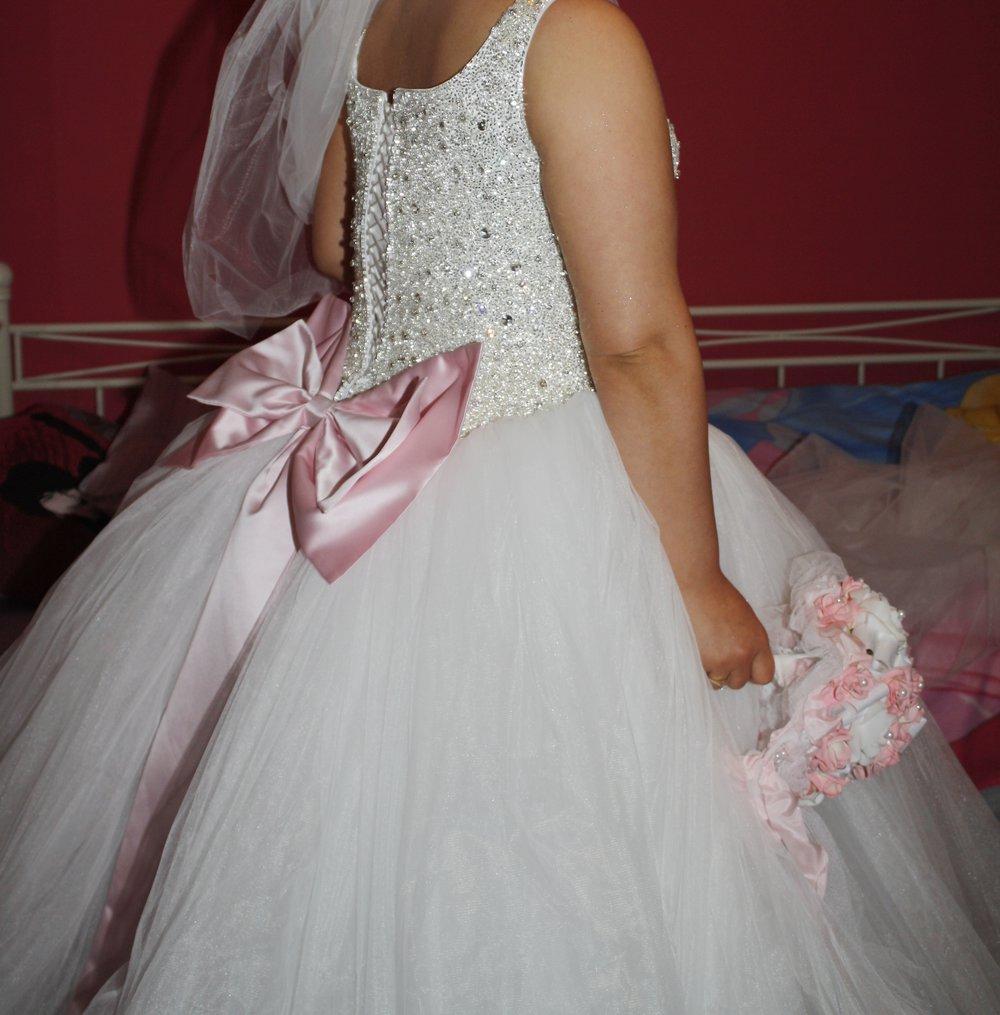 Prinzessinnen Brautkleid Sima Couture Einzelstück Hingucker Rosa ...