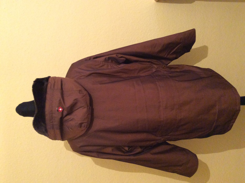 wellensteyn herren winter jacke parka cape horne braun gr m neuwertig. Black Bedroom Furniture Sets. Home Design Ideas