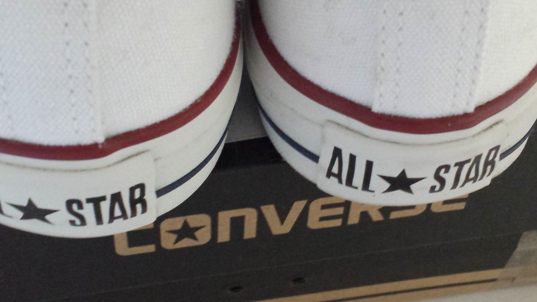 converse chucks schuhe sneakers wei 38. Black Bedroom Furniture Sets. Home Design Ideas