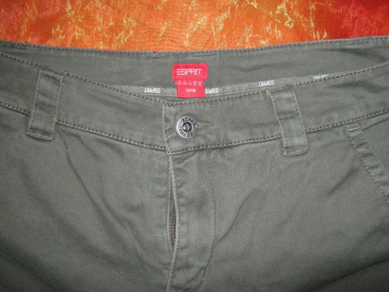 93318186e787e NEUw* Sexy * Marlene * Schlag * Jeans- Hose für große Ladys 'ESPRIT' long *  Gr. 36- 38/ S, Khaki grün