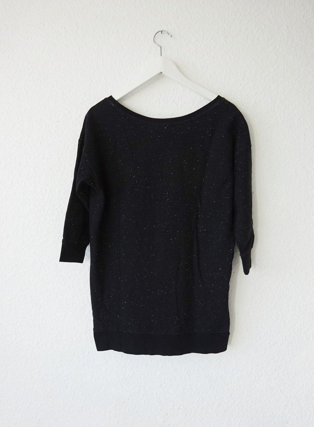 2225574515692 H M - Schwarzes Galaxy Sweatshirt