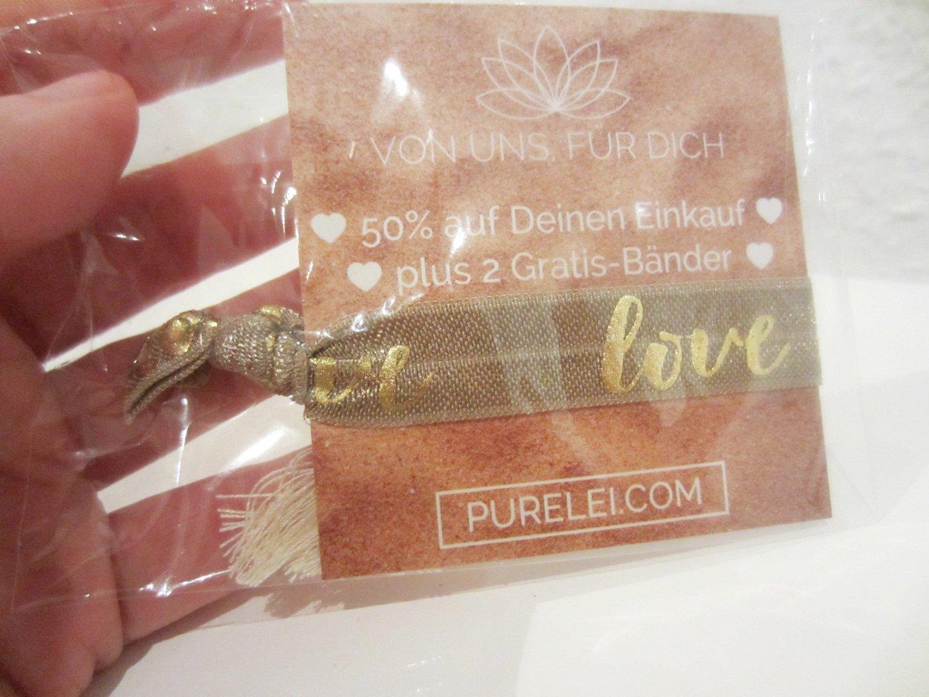 purelei love armband haarband plus gutscheincode. Black Bedroom Furniture Sets. Home Design Ideas