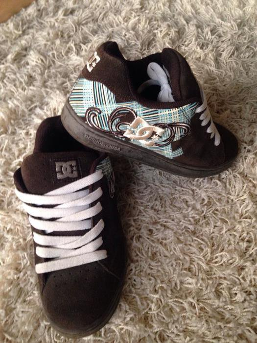 sale retailer c3ff6 92f11 DC Shoes, DC Schuhe, DC Skaterschuhe, Skating, Skateboard in braun Größe 36