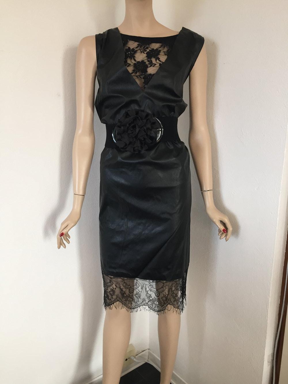 Sexy Lederkleid Abendkleid Cocktailkleid :: Kleiderkorb.de