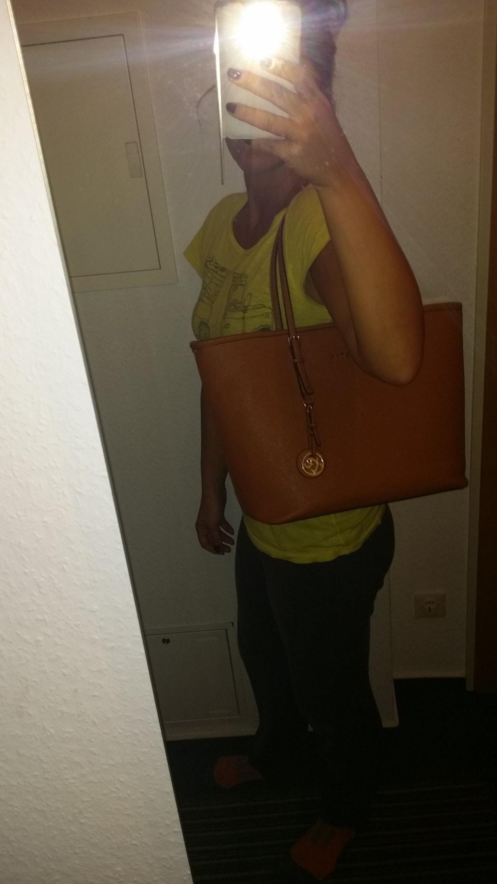 8747aeb8584e6 Shopper Tasche Handtasche Schwarz Tom    Eva Schultertasche Neu ...