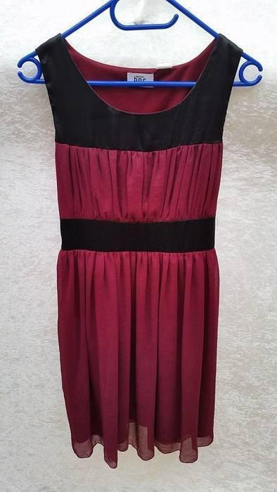 475b6d8128ae23 b.p.c - Bordeaux schwarzes Cocktail Kleid :: Kleiderkorb.de
