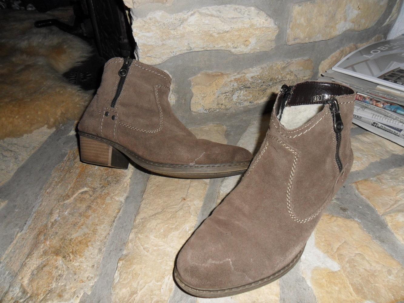 promo code ac895 1e00b Rieker Schuhe gebraucht ECHT Wildleder