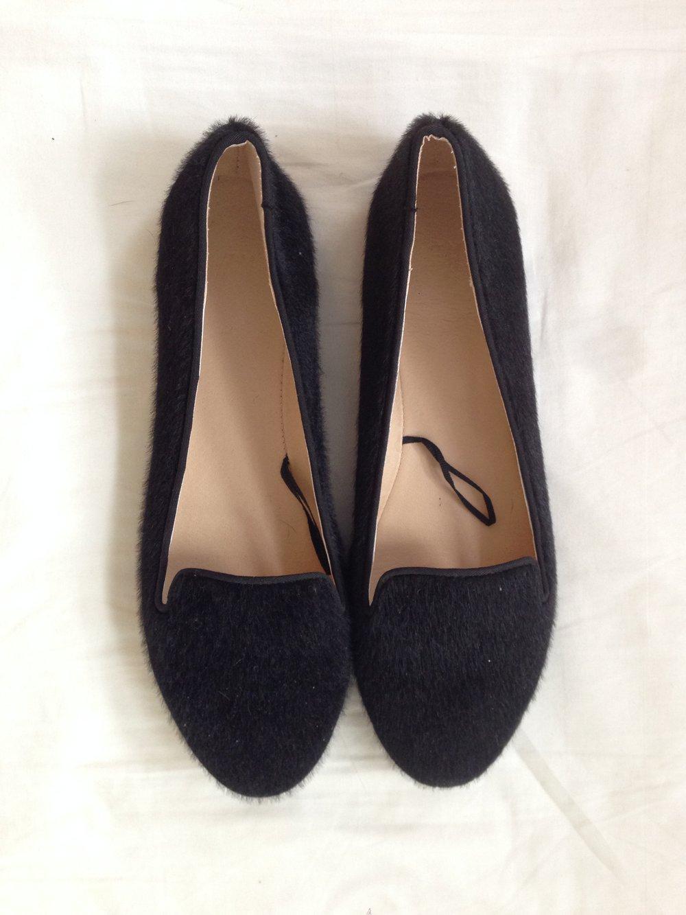 H m slipper ballerina schwarz 38 neu - Hm damenmode ...