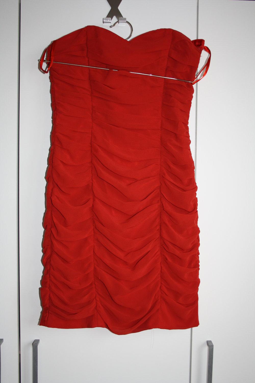 rotes Party Kleid H&M :: Kleiderkorb.de