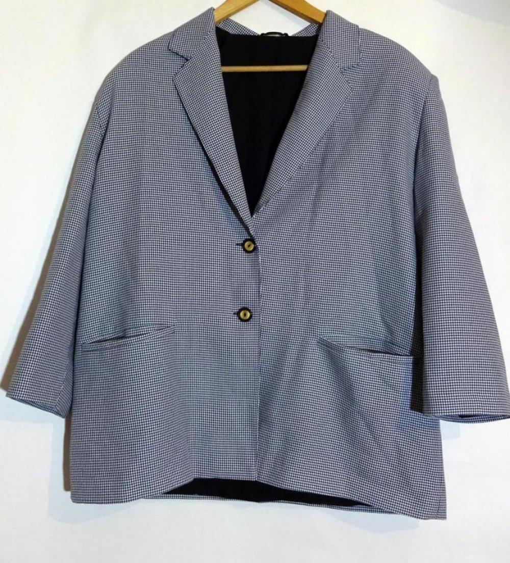 vb vintage blazer mit pepita muster. Black Bedroom Furniture Sets. Home Design Ideas