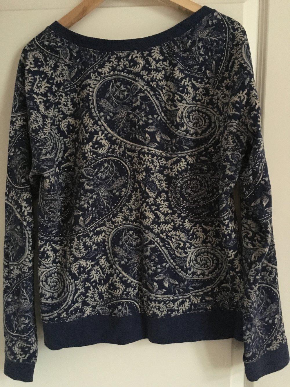 pullover sweatshirt h m l o g g gr l. Black Bedroom Furniture Sets. Home Design Ideas