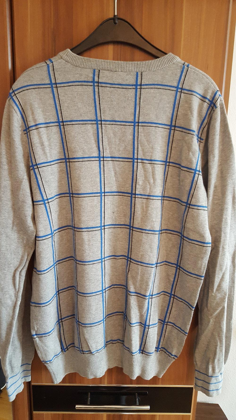 701df2d905ed Pullover Kariert Grau Pullover Kariert Grau ...