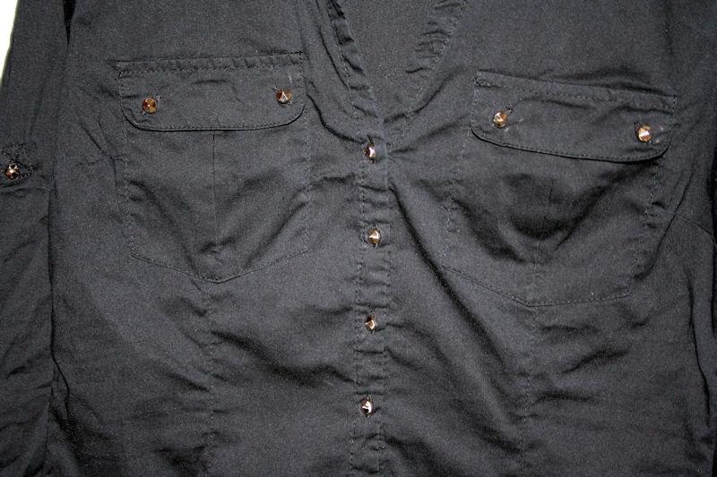 ... schwarze Bluse Gr.S   Gr.36   von Amisu New Yorker   Damen ... 10077f6e38