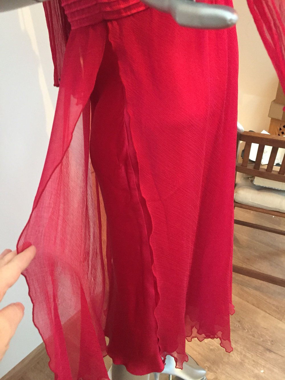 Nicowa Pailletten Abendkleid Partykleid rot :: Kleiderkorb.de
