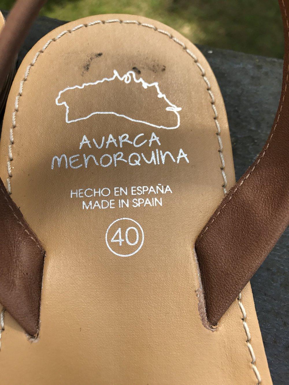 f7a73ce5671ec3 Spanische Sandalen aus Leder Spanische Sandalen aus Leder ...