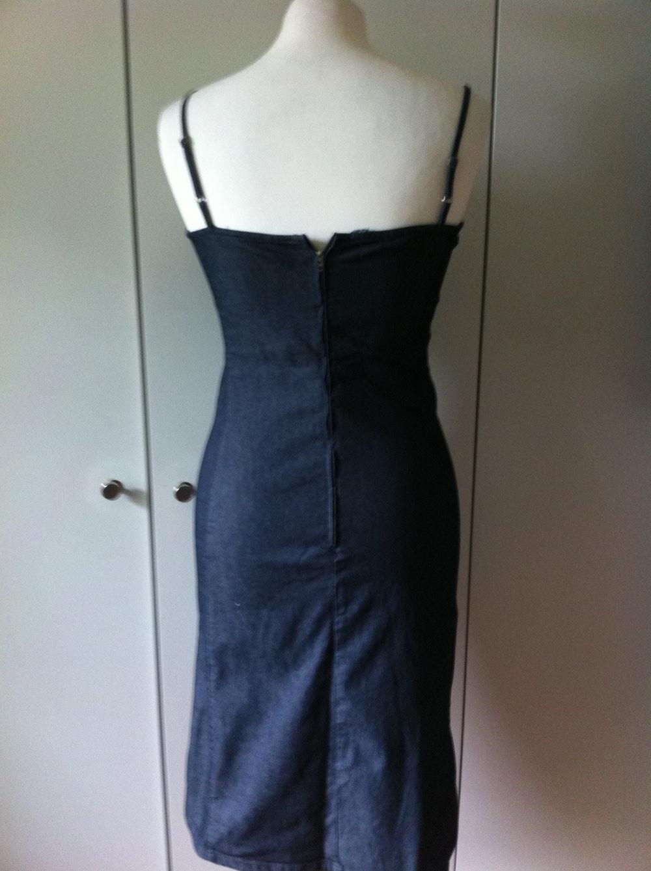 Sisley Jeanskleid Gr S Kleid Jeans Trägerkleid