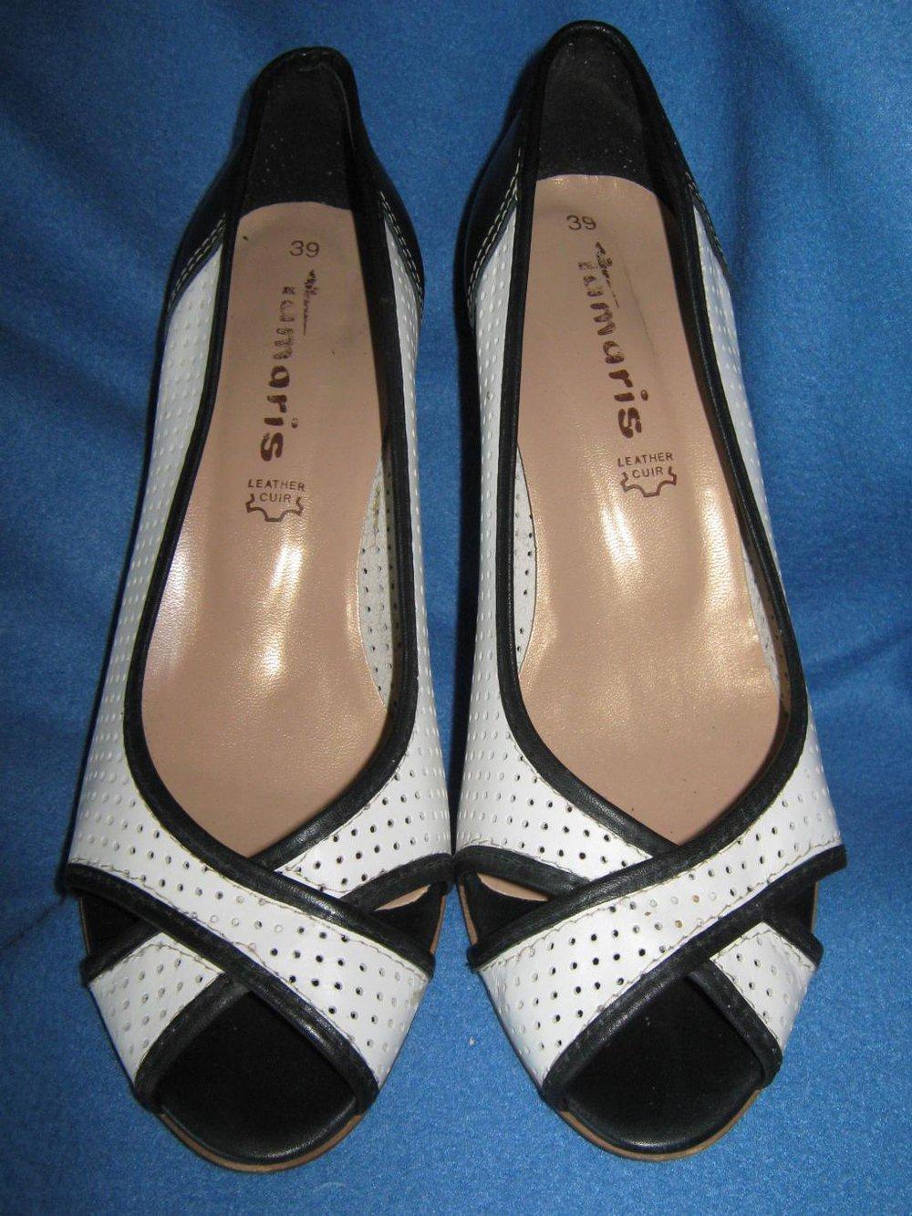 9d18151e5fb738 NEU Leder Peep Toes High Heels Pumps Sandaletten Schuhe