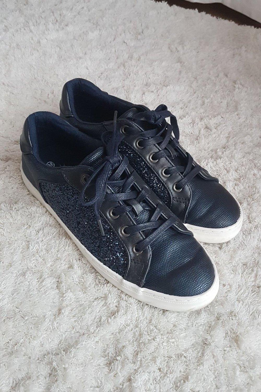 promo code 35f88 c520d ellie goulding sneaker blau Glitzer neu 38