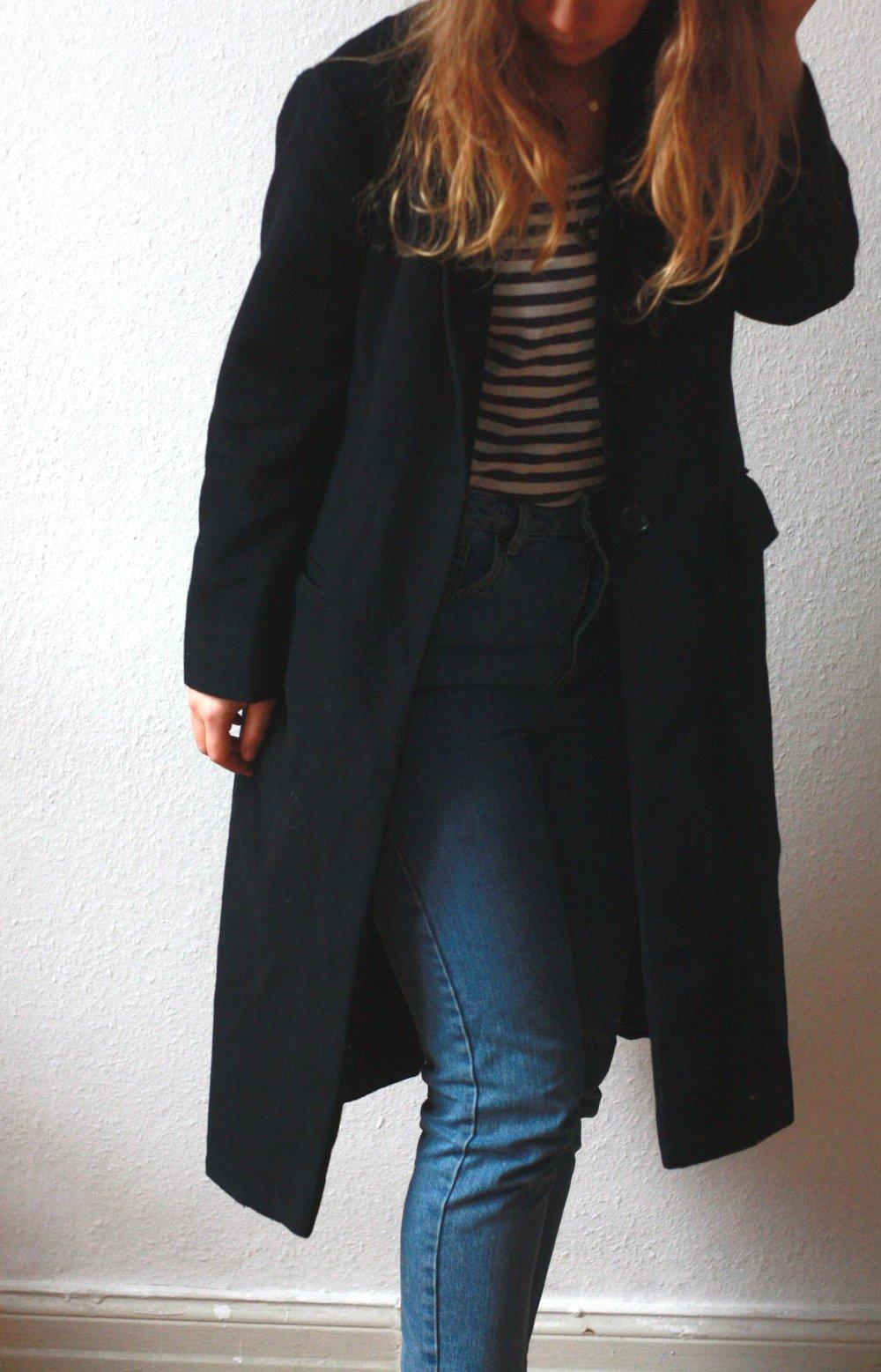 NEU ZARA STEPPJACKE Übergangsjacke Mantel Blazer Blogger M